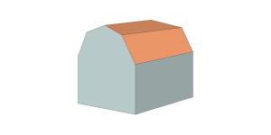 gambrel-roof
