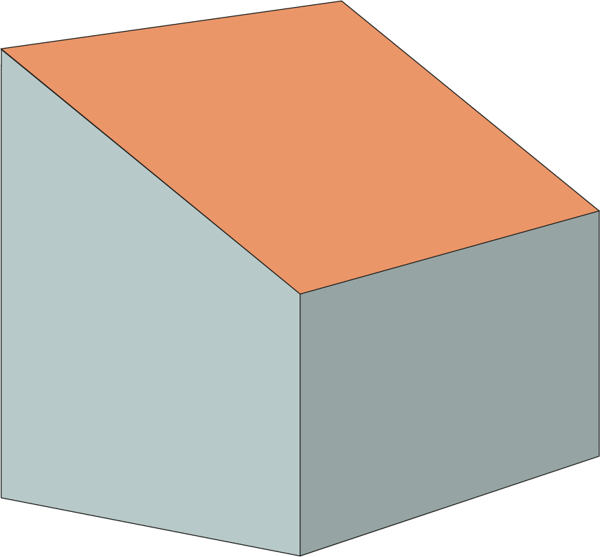 calculate-content-of-mono-pitched-roof
