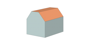 truncated-saddle-roof